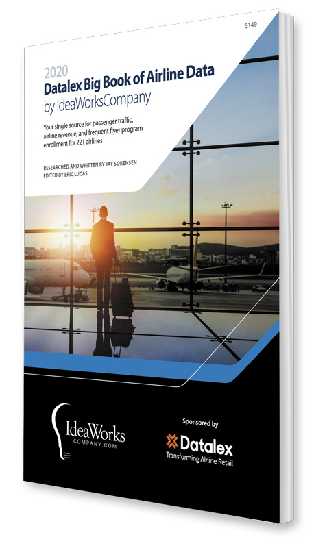 Datalex Big Book of Airline Data by IdeaWorksCompany